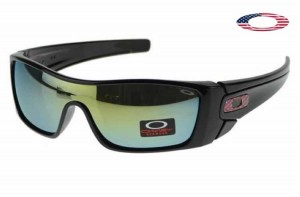 fake oakley batwolf sunglasses  quick view · fake oakley batwolf sunglasses matte black frame yellow blue lens