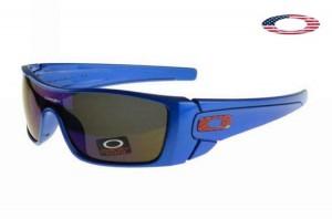 965c4039b4 Quick View · Fake Oakley Batwolf Sunglasses Matte Blue Frame Gray Lens