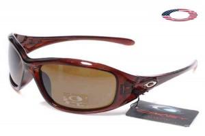0ddea1bcfc Quick View · Fake Oakley Encounter Sunglasses Polished Black Ruby Frame  Brown Lens