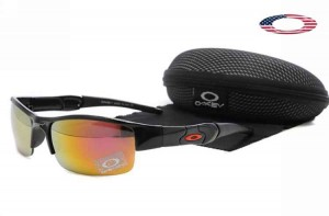 oakley sunglasses cheap fake  quick view · fake oakley flak jacket sunglasses black frame fire iridium