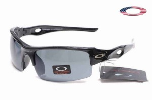 655678e5ca Quick View · Fake Oakley Flak Jacket Xlj Sunglasses Polished Black Frame  Gray Lens