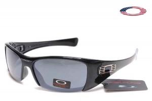Quick View � Fake Oakley Hijinx Sunglasses Semi Rimless Polished Black Frame  Gray Lens
