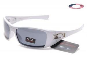 Quick View � Fake Oakley Hijinx Sunglasses Semi Rimless White Frame Gray  Lens