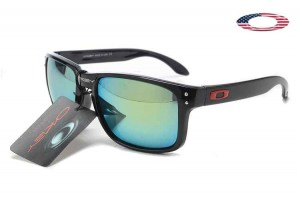 1c310a57e47 Quick View · Fake Oakley Holbrook Sunglasses Polished Black Frame Sky Blue  Lens