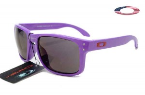 3e1b6c1d7b8 Quick View · Fake Oakley Holbrook Sunglasses Purple Frame Gray Lens
