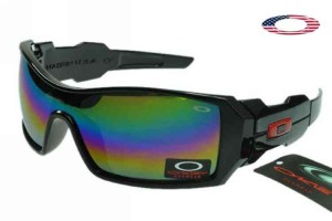 eb02ab459a Quick View · Fake Oakley Oil Rig Sunglasses Polished Black Frame Colorful  Lens. Sale