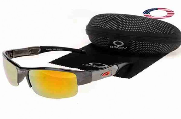 967893e9e7 Fake Oakley Flak Jacket Sunglasses Gray Smoke   Fire Iridium Sale Online