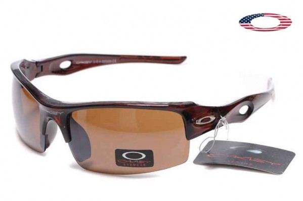 82b77a273c3 Fake Oakley Flak Jacket Xlj Sunglasses Crystal Black Ruby   Brown ...