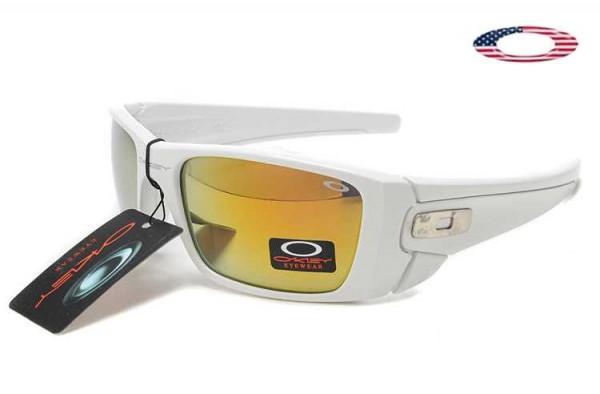 Fake Oakley Fuel Cell Sunglasses White / Fire Iridium Sale Online