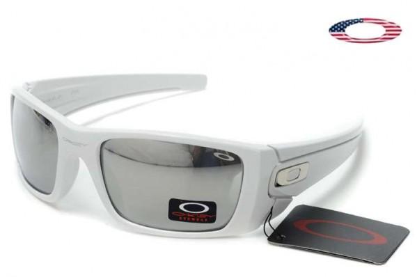 Fake Oakley Fuel Cell Sunglasses White / Silver Iridium Sale Online