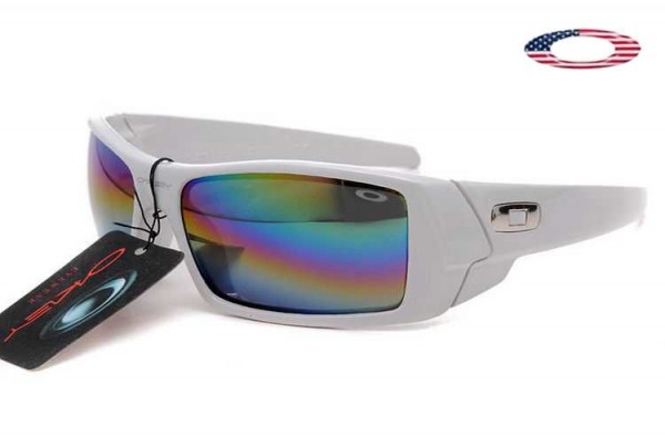 e0ed7c4170 Fake Oakley Gascan Sunglasses White   Colorful Sale Online