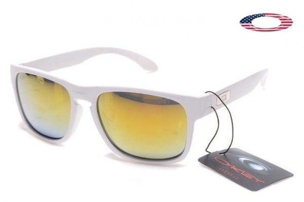 2267372fe72 Fake Oakley Holbrook Sunglasses White   Fire Iridium Sale Online