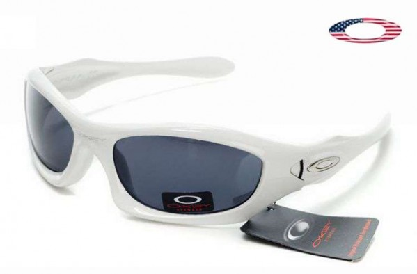 2e754b635d0 Fake Oakley Monster Dog Sunglasses White   Blue Sale Online
