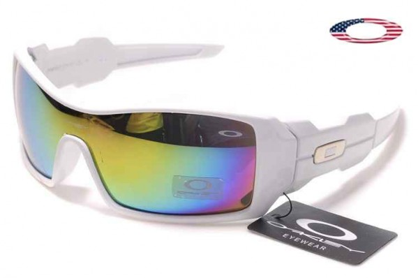 75100be705a Fake Oakley Oil Rig Sunglasses White   Fire Sale Online