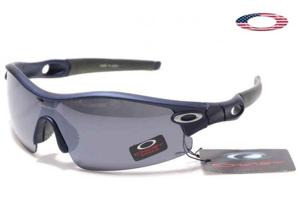 30a6403fa729 Fake Oakley Radar Edge Sunglasses Blue   Gray Sale Online