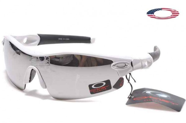 2d9ba4b19be Fake Oakley Radar Edge Sunglasses White   Silver Iridium Sale Online