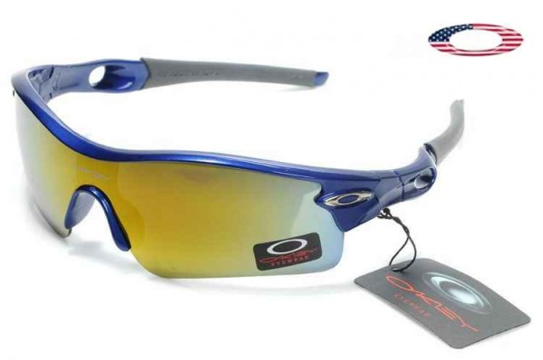 1a33f6de2e5 Fake Oakley Radar Path Sunglasses Polished Blue   Fire Iridium Sale ...