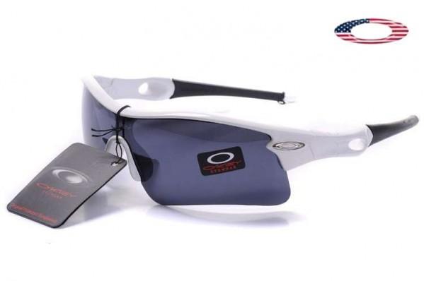 0b861a6d2a6 Fake Oakley Radar Range Sunglasses White   Black Sale Online