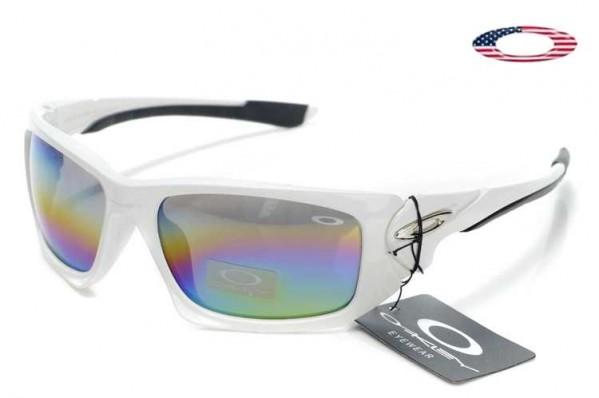 a3e826e84b9f4 Fake Oakley Scalpel Sunglasses Polished White   Colorful Sale Online