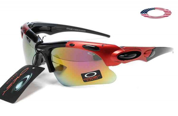 d594be6cd2 Fake Oakley Sport Sunglasses Polished Red Black   Fire Iridium Sale Online