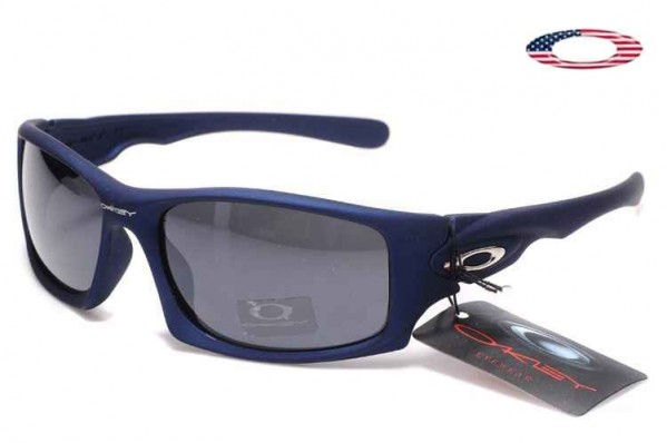 6b292bbe4bbc4 Fake Oakley Ten Sunglasses Matte Blue   Gray Sale Online