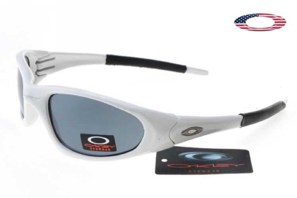 962ffd20ce Fake Oakley XX Sunglasses White   Blue Sale Online