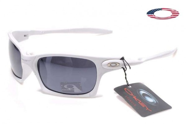 bf25e3ac46 Fake Oakley X Squared Sunglasses White   Black Sale Online