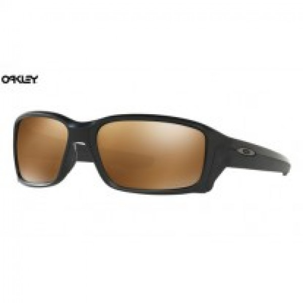 9d8f8e47789 Fake Oakley Straightlink sunglasses Matte Black frame Prizm Tungsten  Polarized lens