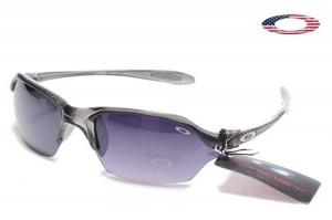 33412b1c757 Quick View · Fake Oakley Ice Pick II Sunglasses Crystal Black Frame Purple  Lens