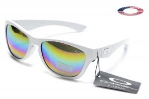 6123267797 Fake Oakley Jupiter LX Sunglasses White   Colorful Sale Online