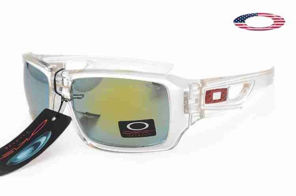 915b80e8f2 Fake Oakley Eyepatch 2 Sunglasses Polished Clear   Fire Iridium Sale ...