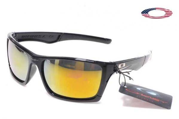 86368c1e2b Fake Oakley Jury Sunglasses Polished Black   Fire Iridium Sale Online